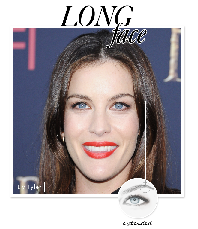 Eyebrow Shapes to Flatter Your Face: Long
