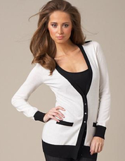 Long sleeved cardigan