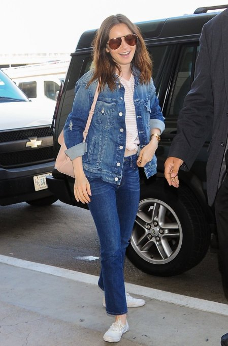 Ways To Wear A Canadian Tuxedo | Lily Collins