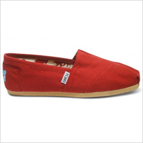 Cute flats from Toms