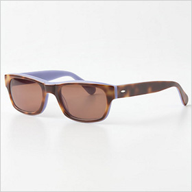 stylish tortoiseshell pair of sunglasses