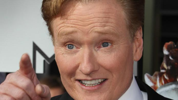 Conan O'Brien gets opinionated on Charlie