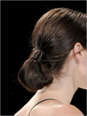 Looped-under ponytail | Sheknows.com