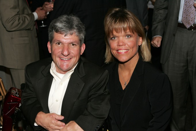 Matt and Amy Roloff throwback