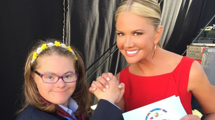 Nancy O'Dell reveals the Special Olympics