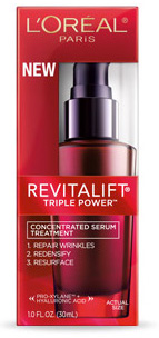 L'Oreal's new Revitalift Triple Power Concentrated Serum