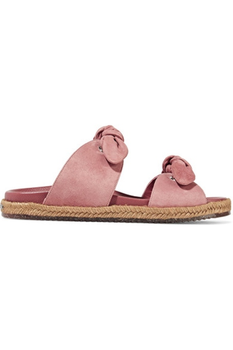 Espadrilles To Scoop Up ASAP | Jimmy Choo Nixon Knotted Slides