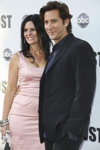 Lost star Henry Ian Cusick and his wife