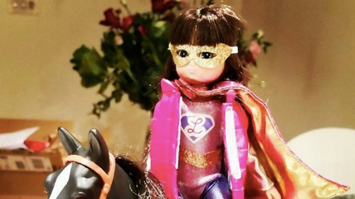 Lottie the doll launches gender equality