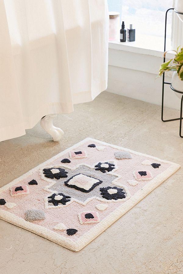 Urban Outfitters geo bath mat