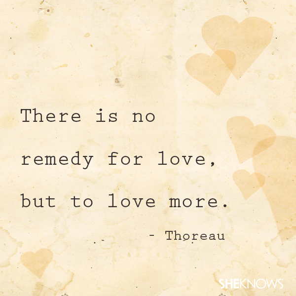 Top 50 famous love quotes – SheKnows