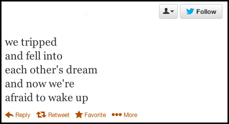 25 Poetic tweets from die-hard romantics