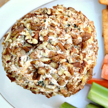 Low fat cream cheese ball