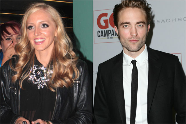 Lizzy and Robert Pattinson
