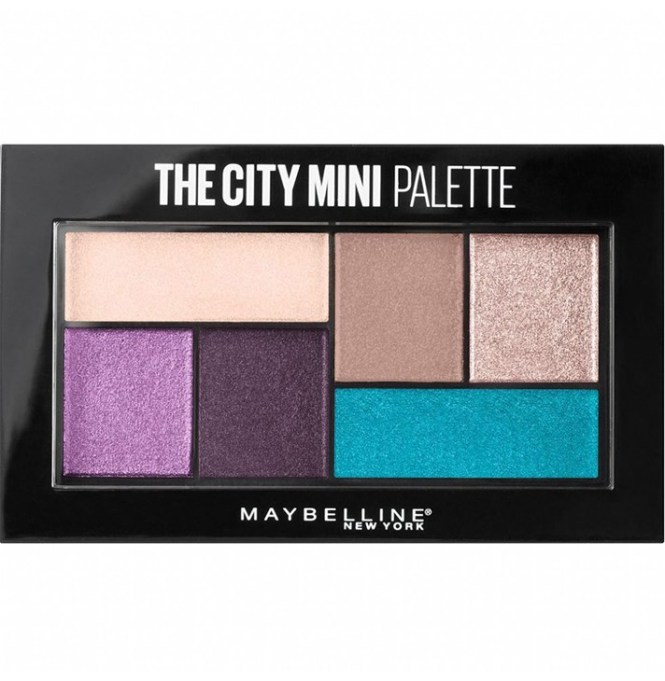 Fall Makeup Trends: Maybelline The City Mini Palette in Graffiti Pops | Fall Makeup Trends 2017