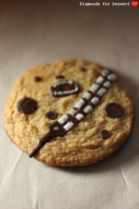 Star Wars Chewie Wookiee cookies