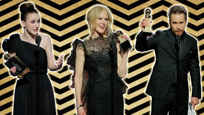 Best Excerpts From Golden Globes Winners'