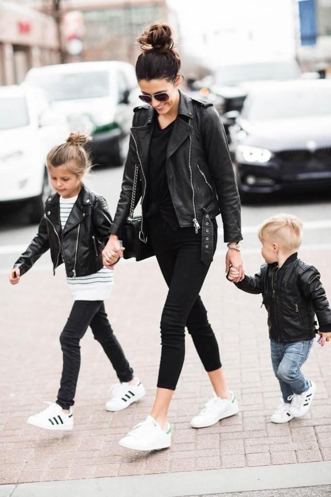 Twinsies Leather Jacket