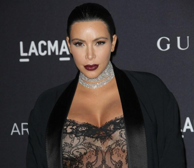 Kim Kardashian in 2015