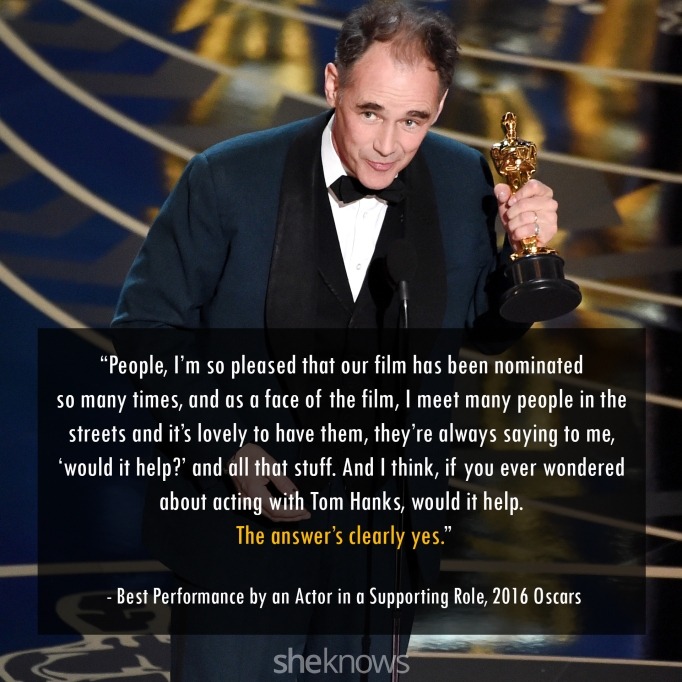 Mark Rylance Oscars 2016