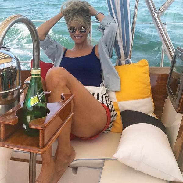 Celebrities Celebrating Independence Day: Christie Brinkley