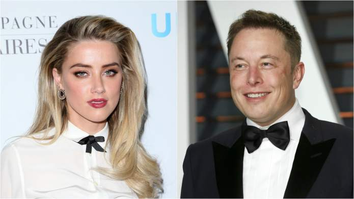 Amber Heard and Boyfriend Elon Musk