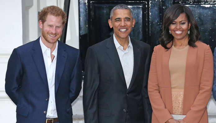 Prince Harry & Michelle Obama Gave