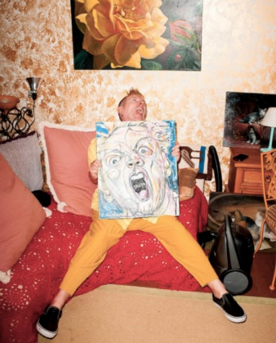 Terry Richardson photo of John Lydon