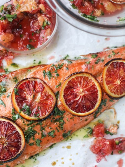 Recipes to give you vitamin D during winter | Winter Citrus Salmon