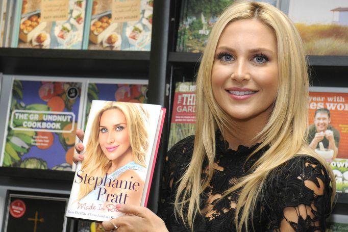 Stephanie Pratt promoting her book