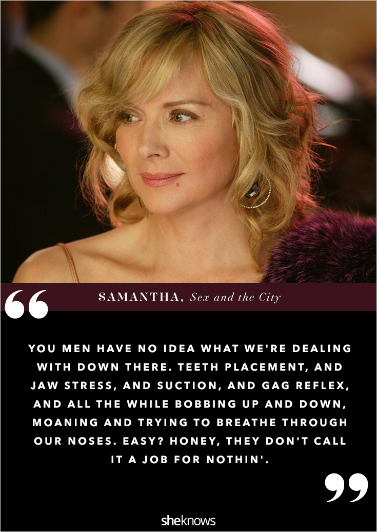 Sex and the city quotes for