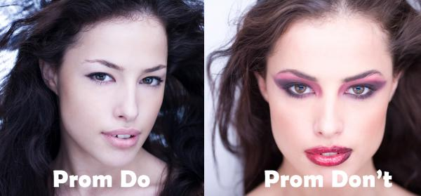 5 Prom makeup looks