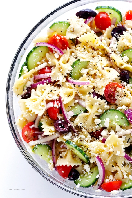 Summer pasta recipes