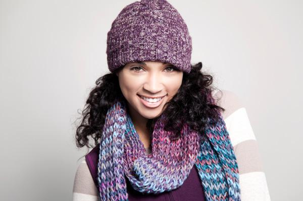Snuggle up in hats, scarves, boots
