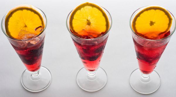 Berry Peach Sangria recipe