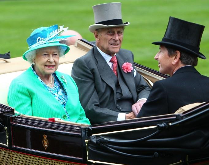 Queen Elizabeth II & Prince Philip in 2012