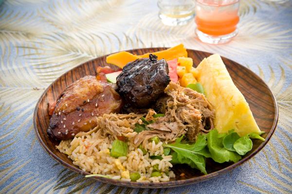 Luau feast