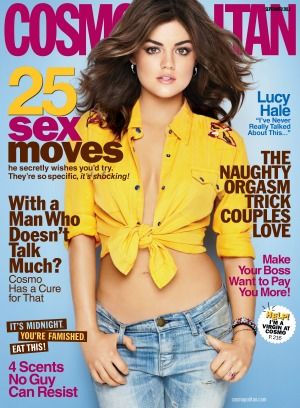 Lucy Hale Cosmo