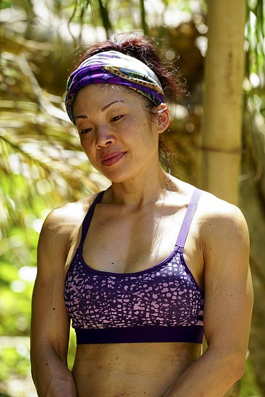 Lucy Huang of Gen-X tribe on Survivor: Millennials Vs. Gen-X