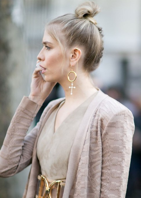 Standout Ways To Style Long Hair | Top Knot And Braid
