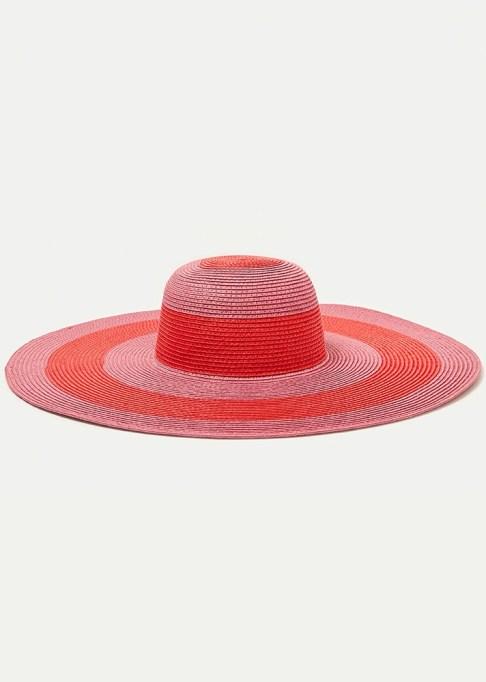 Best Sun Hats for Women: Zara Large Striped Floppy Hat| Summer Outfit Idea