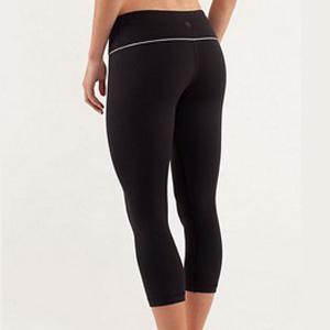 lulumon wunder under yoga pants in black