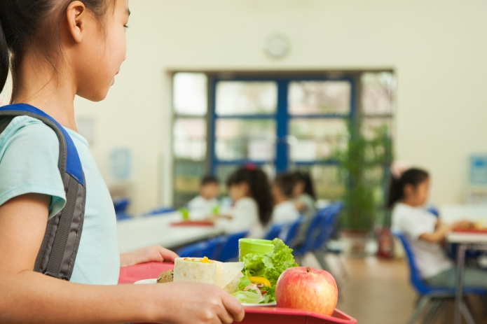 School tells cafeteria worker to throw