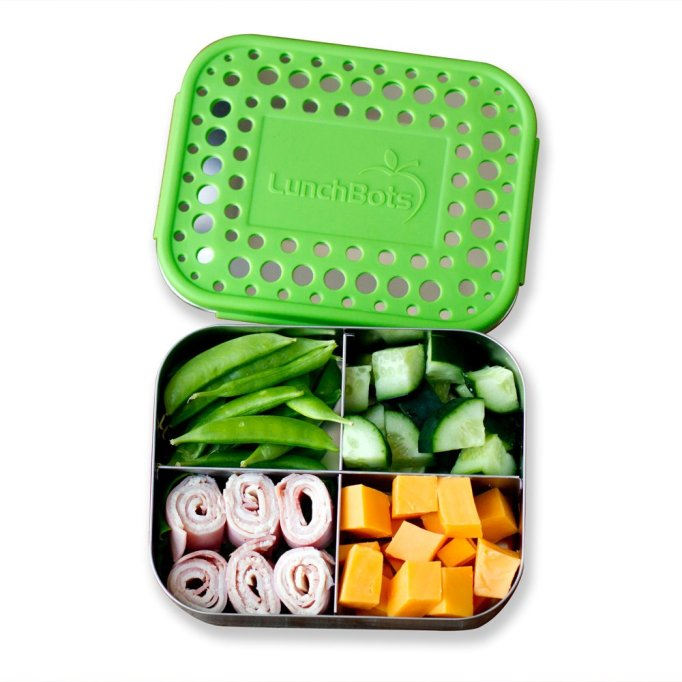 LunchBots quad snack container