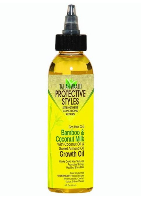 Protective Styles Gro Hair Gro Bamboo and Coconut Milk Growth Oil