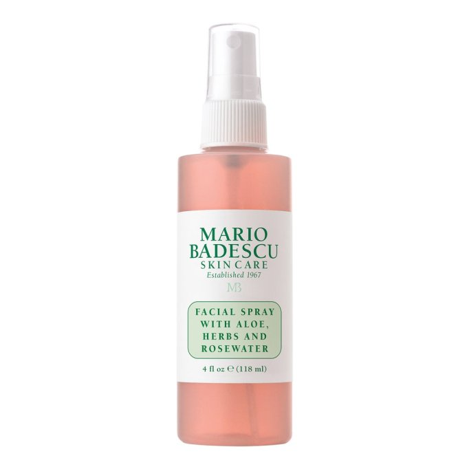 Best under face mists to try today | Mario Badescu Facial Spray with Aloe, Herb and Rosewater