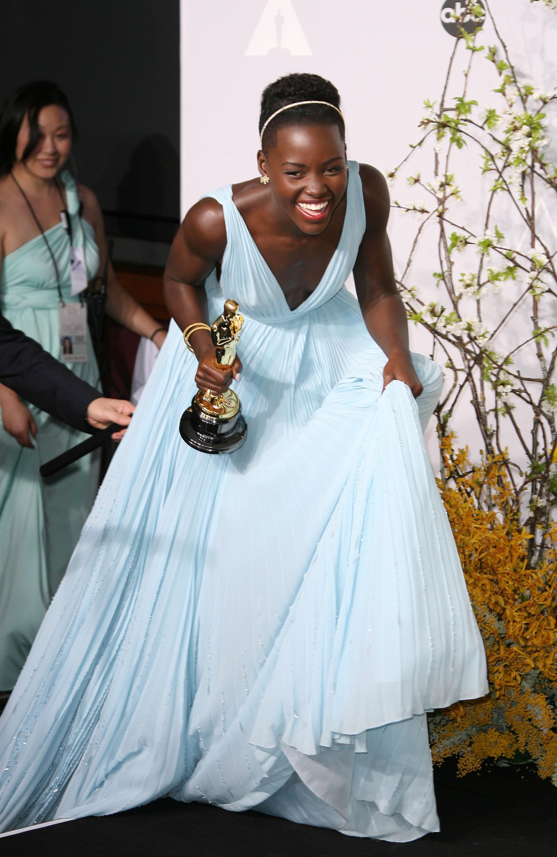 Lupita Nyong'o's acceptance speech