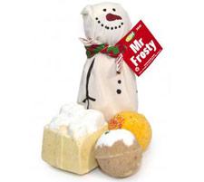 Lush Mr Frosty bath bomb