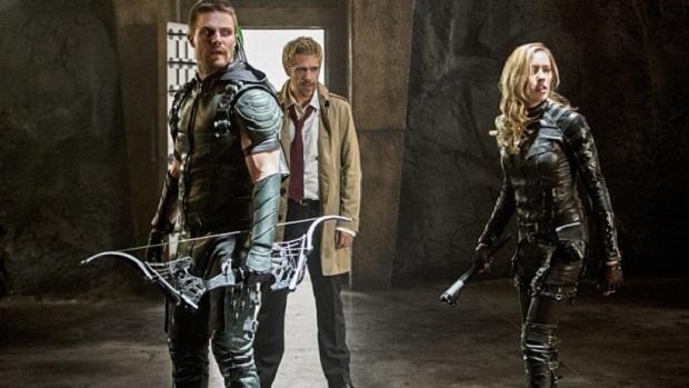 Constantine/Arrow crossover