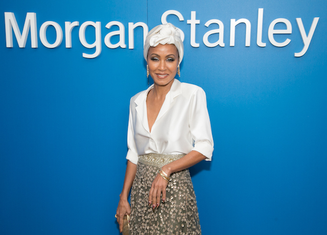 Jada Pinkett Smith attends Alfre Woodard and Morgan Stanley present the 9th Annual Oscar's Sistahs Soiree